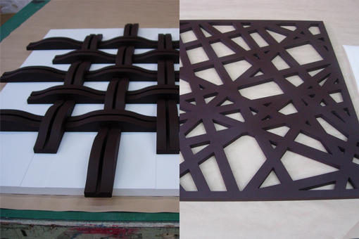 デザインパネル_幾何学模様格子サンプル
